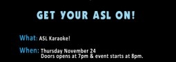 How to get SIGN-A-OKE Tickets!